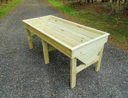 plans for a raised trug planter large