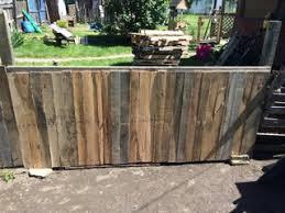 Pallet Fence 4 Steps Instructables