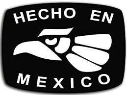 Amazon Com Hecho En Mexico Sticker Latino Mexican City Tijuana Chihuahua Hispanic Automotive