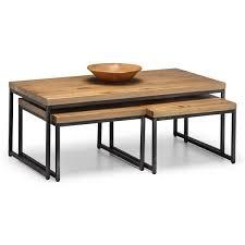 oak coffee table julian bowen