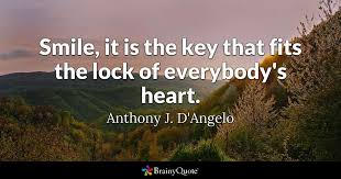 anthony j d angelo smile it is the key that fits the