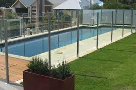 stylish fully frameless glass panels
