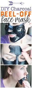 diy charcoal l off mask easy