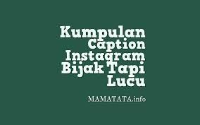 kumpulan caption ig lucu sunda igposting