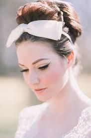 retro and vine wedding makeup ideas