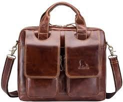genda 2archer business briefcase men
