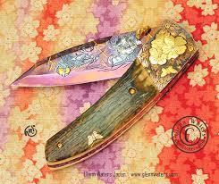 wallpaper knife edc damascus
