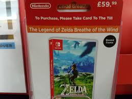 ah yes the iconic zelda breathe of the