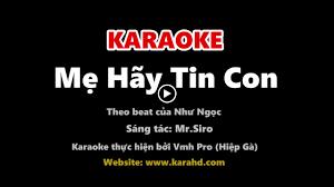 Mẹ Hãy Tin Con (Em Gái Mưa 2) – Như Ngọc (Giọng Hát Việt Nhí ...