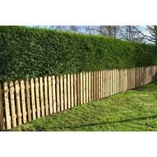 Picket Garden Fence Panels Wood Pales 3ft High Pointed Top Pack Of 10 Ebp Pt 3ftx10 1000 In 2020 Garden Fence Panels Garden Hedges Garden Fence