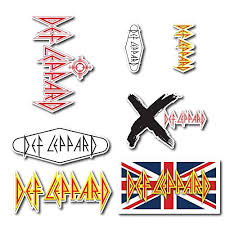 Platinum Stuff Def Leppard Sticker Set P Buy Online In Guernsey At Desertcart