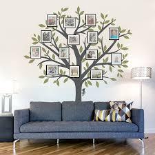 Large Family Tree Wall Decal Family Tree Wall Sticker Family Tree Wall Living Room Art Home Decor