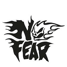 No Fear Flaming Skull Logo Jdm Car Truck Window Laptop Vinyl Decal Sticker Vinyl Decals Stickers Decal Stickerno Fear Aliexpress