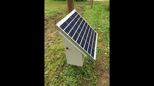 How To Make S Solar Powered Electric Fence Charger Using A 12v Dc Battery Energizer Youtube