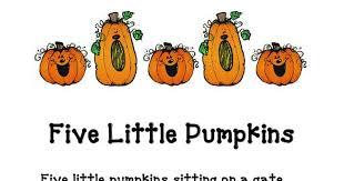 Five Little Pumpkins Pdf Google Drive