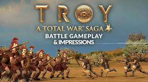 TOTAL WAR SAGA: TROY | Battle Gameplay & Impressions - YouTube