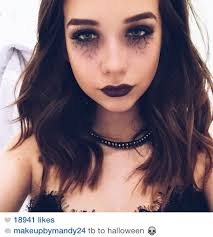 halloween makeup makeupbymandy24