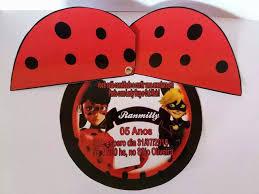 Convite Miraculous Ladybug Con Imagenes Decoracion Fiesta