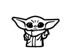 Baby Yoda Star Wars The Mandalorian Vinyl Decal Window Sticker Disney 4 Inch W Fashion Home Garden Homedcor De In 2020 Star Wars Yoda Vinyl Decals Window Stickers
