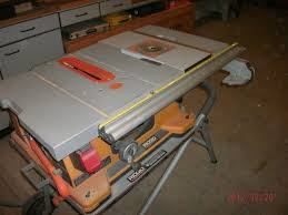 Pin By Will Chandler On Woodworking Portable Table Saw Table Saw Ridgid Table Saw