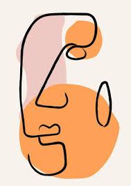 Art Prints Matisse Inspired Henri Marisse Print Face Print | Etsy ...