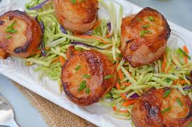 BBQ Bacon Wrapped Scallops