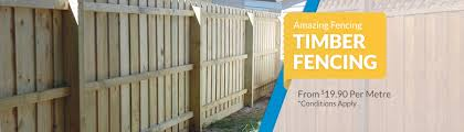 Treated Timber Fencing Amazing Fencing