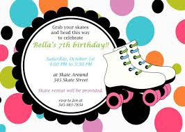Awesome Printable Roller Skating Party Invitation 8 00 Via Etsy