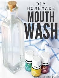 diy homemade mouthwash