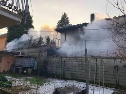 Il tragico incendio a Castiglione Olona - VareseNews - Foto
