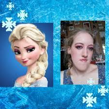 elsa out of disney frozen makeup