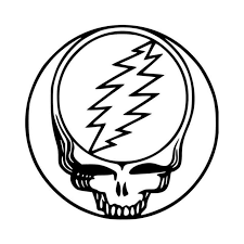 Grateful Dead Steal Your Face Vinyl Decal Sticker