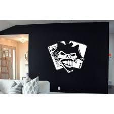 Shop Joker Playing Card Vinyl Sticker Wall Art Overstock 10183703