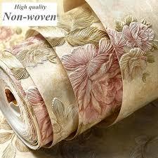 Satın almak 3d duvar kağıdı rulo duvar kağıtları çiçek romantik ...