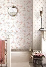 جميل البرتقال الورود الزهور خلفيات للجدران غرف النوم Buy حار ورق