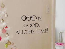 God Is Good Beautiful Wall Decals