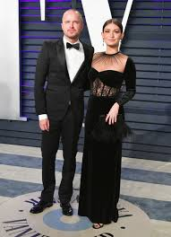 Aaron Paul And Lauren Parsekian - The Cutest Couples At The 2019 Oscars -  Livingly