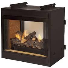 see through vent free firebox