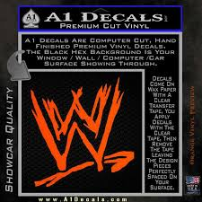 Wwe Logo D2 Decal Sticker A1 Decals