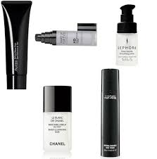 makeup types of primers and 5 primers