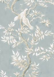 lewis wood doves wallpaper
