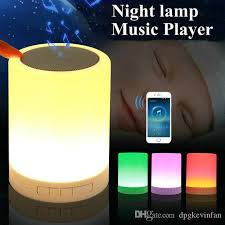 2020 Led Baby Night Light Novelty Kids Night Lamp Girl Boy Gift Usb Sensor With Bluetooth Music Children Room Toys Table Lamps From Dpgkevinfan 17 94 Dhgate Com