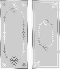 victorian etched glass door london