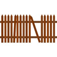 Broken Fence Clipart Clip Art Library