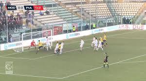 Video di Modena - Piacenza 0-0: gli highlights - piacenzasera.it