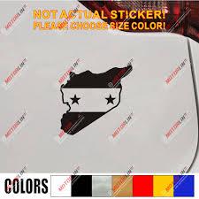 Syrian Arab Republic Syria Flag Decal Sticker Car Vinyl No Bkgrd Pick Size Leather Bag