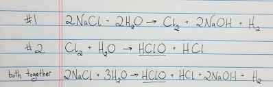 how does pool chlorine work
