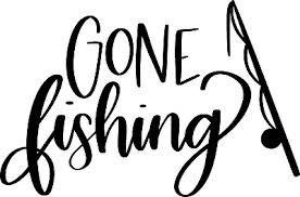 Gone Fishing Die Cut Decal Vinyl Sticker For Cars Truck Rv Boat Kayak Ebay