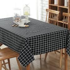 classic rectangular cotton linen