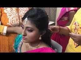 south indian bridal makeup and